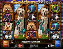 GOLDEN SPIRIT - slot game for Casino Technology Inc.