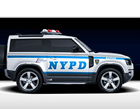 2020 Land Rover Defender American Police
