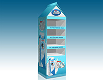 Milk Pos Display SAMPLE