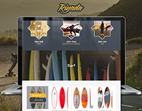 Riyada Extreme Sports Store -  Website Design