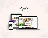 Especio | Gutenberg Food Blog WordPress Theme