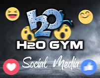 H2o Gym Social Media Designs