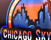 Chicago Skyline Mascot/Esports Logo Project