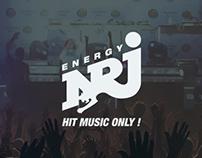NRJ - Web Design