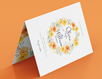Invita - Colorful Weeding Invitation Card