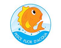PESCE FUOR D'ACQUA - Logo