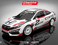 2017 Honda Civic Turismo Nacional Clase 3