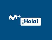 Movistar + Rebranding