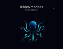 Icônes marines - serie sombre