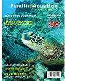 Portada de revista Familia Acuática