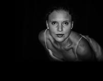 Portraiture -Evita by Bazil.