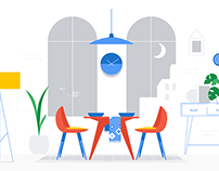 Google Smart Display – Welcome Video Illustrations