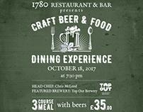 Poster for 1780 Restaurant