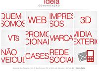 Site institucional Muida Ideia - 2010