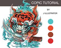 Copic tutorial