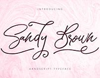 Sandy Brown [Free Font]