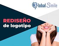 Rediseño logotipo | GlobalSmile