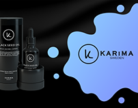 Karima Sweden website redesign & Product design