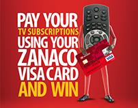 Zanaco Visa Campaign