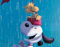 Amistad. Emilio, Snoopy y Charlie