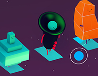 Assets for SPACE ORCHESTRA game (2015)