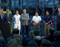 Luis Perez companc - ampliación de su fábrica de pastas