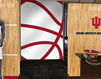 Indiana Hoosiers Space Renders