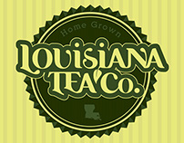 Louisiana Tea Co. Branding
