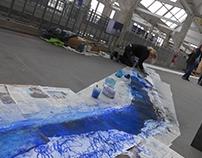 """""""Performance en bleu"""" Cité Nature Arras 13/02/2016"""