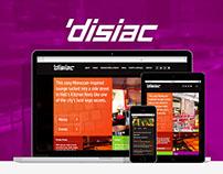 Disiac Lounge - Responsive Website Design