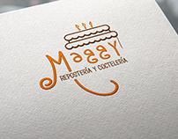 Logo Emprendimiento Maggy Repostería & Coctelería