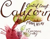 Map Illustration for Central California's AVA'S