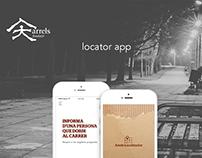 Arrels Localitzador app
