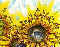 Strange Sunflowers