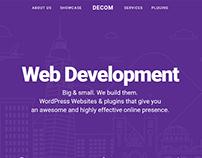Decom Website Relaunch