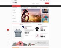 Shopping Mall WordPress Theme - WP Glory