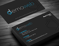Demo Bizz card Design