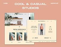 C&C Studios - Web Design