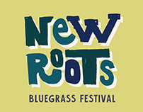 New Roots: Bluegrass festival branding