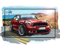 Mini Cooper Countryman - Agency Color Storyboards