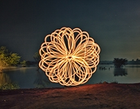 Light Paintings with PoiBoi