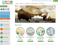 WordPress Theme - Elements Bath and Body