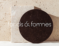 Fonds & Formes — Brand Identity