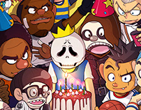 Fever Basketball, Birthday