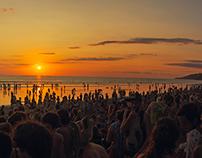 Envision Festival Sunset