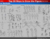 Top 20 Ways to Draw the Figure (7,8,9,10,11 The Manikin