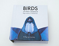 Birds of New Zealand | A Pop-up book