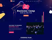 Conference Web Theme