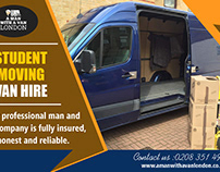 Student Moving Van Hire
