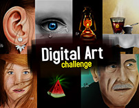 Digital Painting Studies | The Challenge!